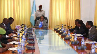 Photo of AU pledges continued AMISOM support to Somalia