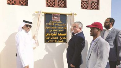 Photo of Qatar Charity inaugurates mosque in Mogadishu