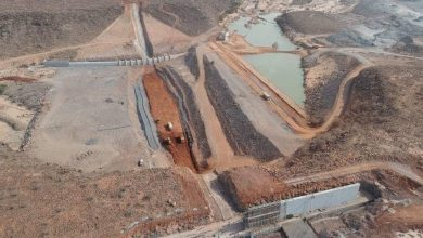 Photo of Djibouti dam financed by Turkish gov't completed