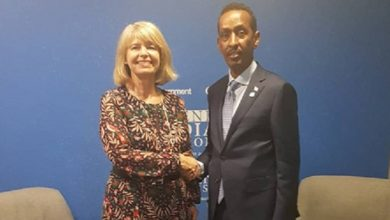 Photo of Somali FM meets State Minister for Foreign and Commonwealth Office of the United Kingdom