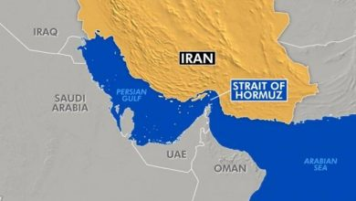 Photo of UAE-based oil tanker disappears in Iranian waters in the Strait of Hormuz