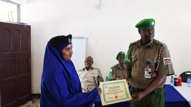 Photo of AU mission trains Somali police to curb extremism