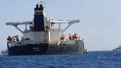 Photo of Iran blasts Britain's 'piracy' after Royal Marines detain oil tanker in Gibraltar