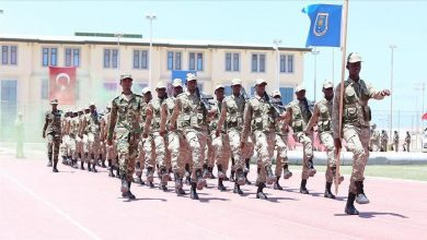 Photo of 152 Somali soldiers graduate from Turkish military camp