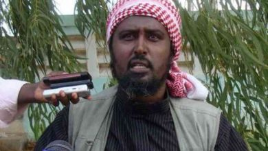 Photo of Al-Shabaab spokesman Ali Dheere reportedly wounded in action