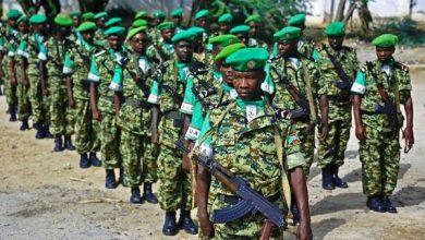 Photo of Burundian soldiers killed in Somalia ambush