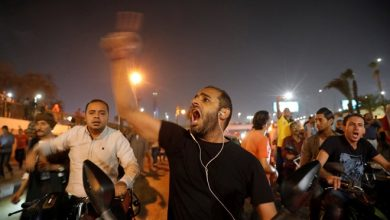 Photo of Rare Protests Against Egypt's Leader Erupt in Cairo and Elsewhere