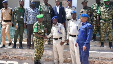 Photo of AMISOM hands over Warsheikh base to Somali Police Force