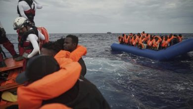 Photo of Charity Ship Rescues 50 African Migrants in Sea off Libya