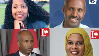 Photo of HISTORICAL: Four Somali-Canadians to contest for Parliamentary seats in upcoming poll