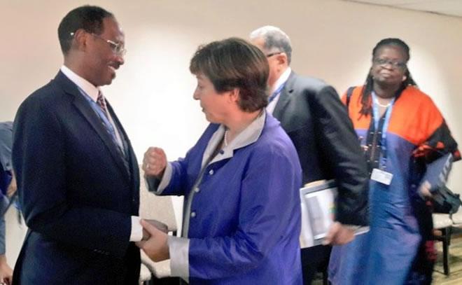 Photo of IMF chief Georgieva says supports debt relief for Somalia
