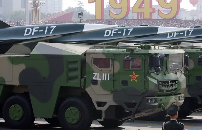 Photo of China showcases fearsome new missiles to counter U.S. at military parade
