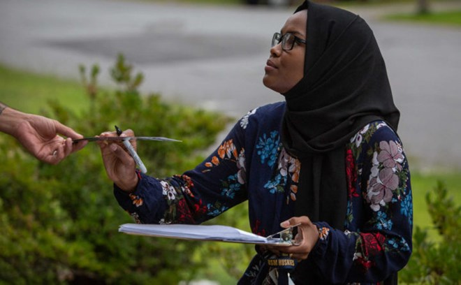 Photo of Meet the woman who wants to be the first Somali-American on Lewiston's City Council