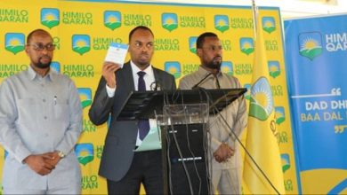 Photo of Himilo party sues Somali government for blocking ex-president Sharif's travel