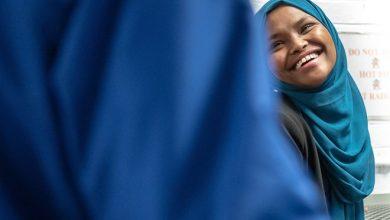 Photo of Safiya Khalid's win considered 'milestone' for Lewiston