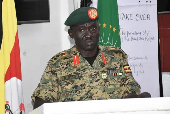 Photo of Brig Otto appointed commander of UPDF contingent in Somalia