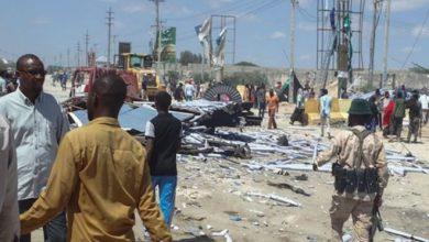 Photo of Nearly 100 killed in Mogadishu rush-hour truck bombing