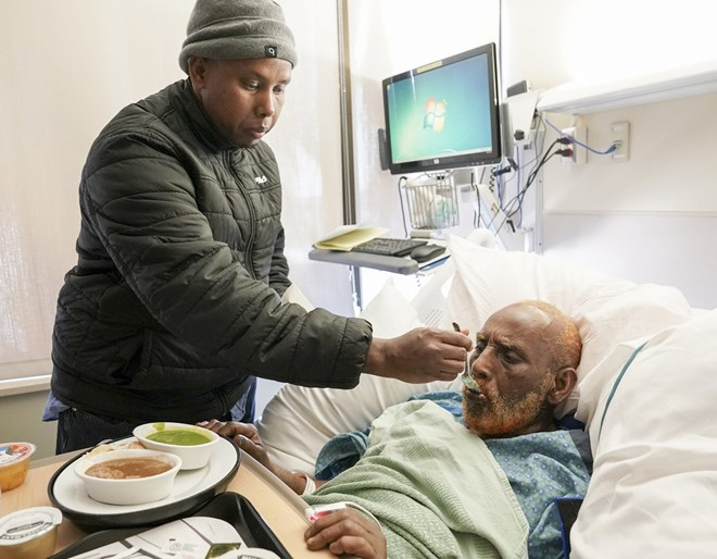 Photo of For survivor of deadly Minneapolis high-rise fire, 'My time hasn't ended yet'