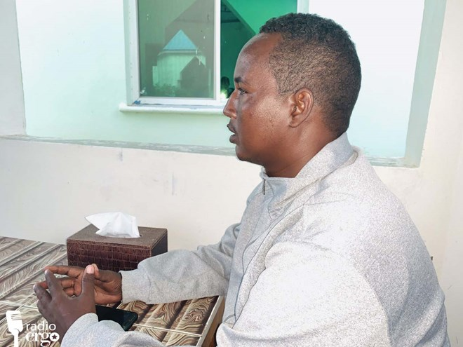 Photo of Somali police officer speaks out about living with HIV/AIDS
