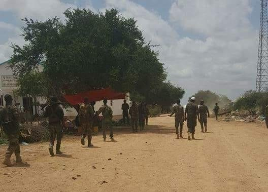Photo of District Commissioner killed in IED attack in Lower Shabelle