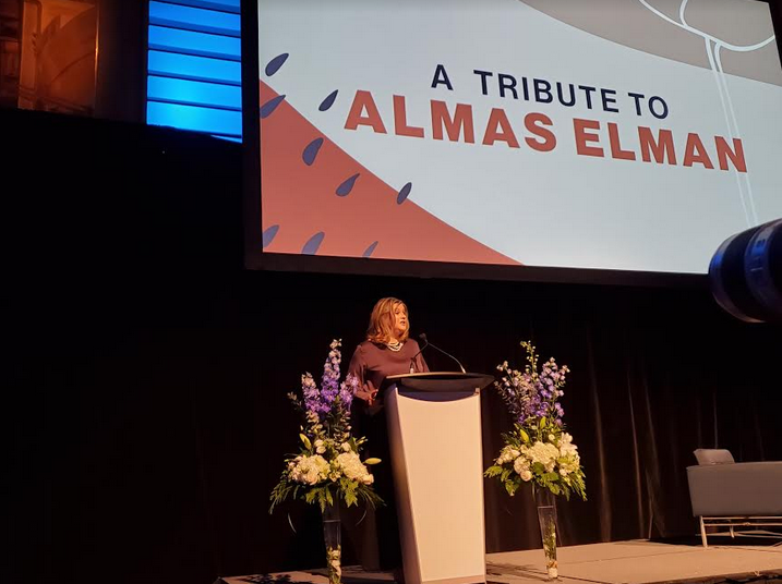 Photo of Canadians pay glowing tribute to late Almaas Elman