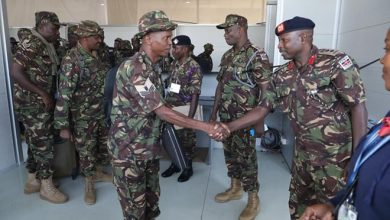 Photo of KDF troops leave Somalia after completion of tour of duty