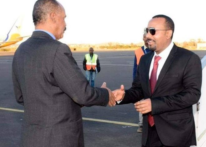 Photo of PM Abiy arrives in Asmara to hold talks with President Afwerki
