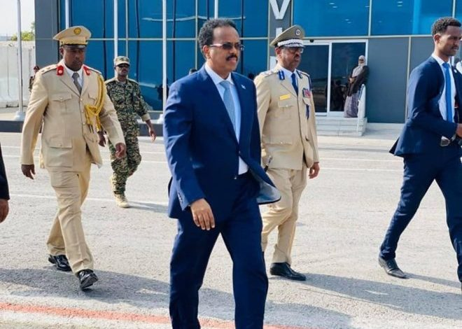 Photo of President Farmaajo jets off to Eritrea for trilateral summit