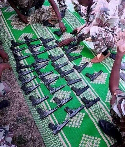 Photo of Somali region special force seized illegal firearms