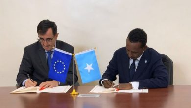 Photo of Somalia signs pact with EU for maritime security support