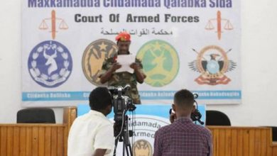 Photo of Mogadishu city employee gets 3 years in jail for previous Shabaab membership
