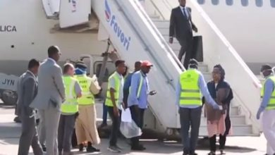 Photo of Somali Sports Minister shrugs off corona virus test upon arrival from Egypt