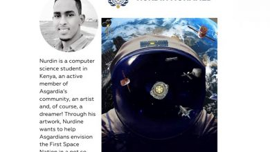 Photo of Meet Space Art Contest Finalist, Nurdin Mohamed!