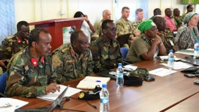 Photo of AMISOM Sector Commanders Meet To Discuss Operations