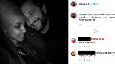 Photo of Ilhan Omar marries political consultant Tim Mynett