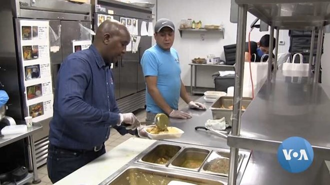 Photo of Afro Deli delivers meals to frontline workers