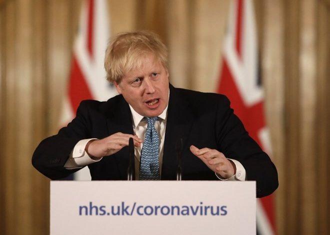 Photo of UK Prime Minister Boris Johnson hospitalized with virus