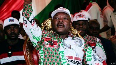 Photo of AMISOM chief mourns death of Burundi leader