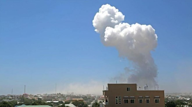 Photo of US airstrikes killing, injuring civilians in Mogadishu