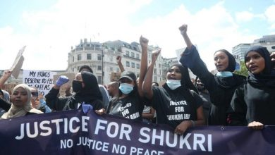 Photo of Demonstrators demand justice for Shukri Abdi in the wake of BLM protests