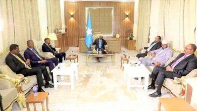 Photo of Farmaajo, FMS leaders meet for preliminary talks in Dhusamareb