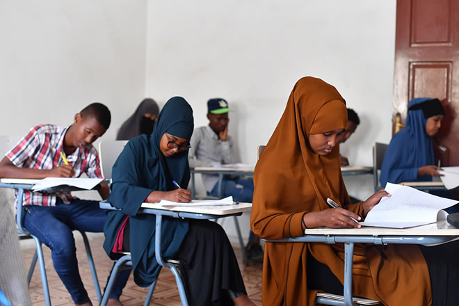 Photo of Somali Students: Victims of Unplanned System of Governance