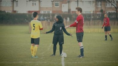 Photo of UK's first female Muslim referee hopes to inspire next generation