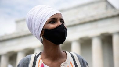 """Photo of """"Firstly, This Is My Country"""": Ilhan Omar Hits Back At Trump's Racist Rally Attack"""