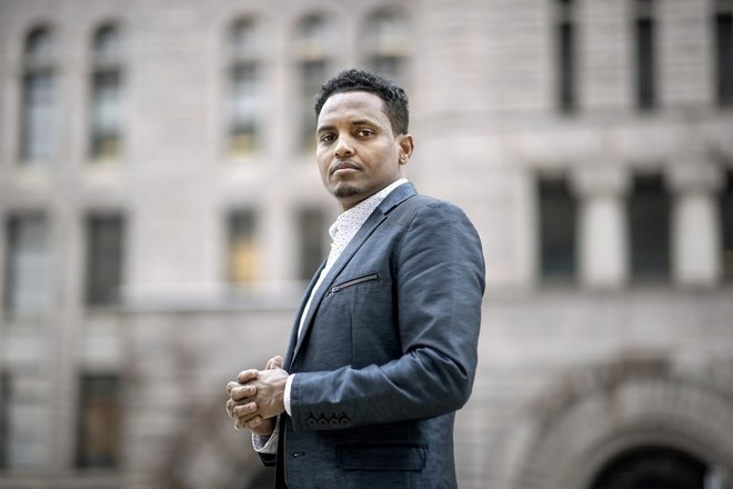 Photo of Jamal Osman, Minneapolis' newest council member, seeks to move past turbulent start
